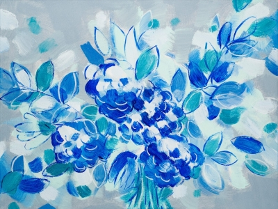 Wedding Blues, 151102 / acrylics on canvas / 40x30 cm / available 245 €