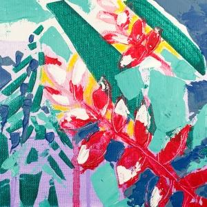 Muttersprache, 151105 / acrylics on canvas / 20x20 cm / available 85 €