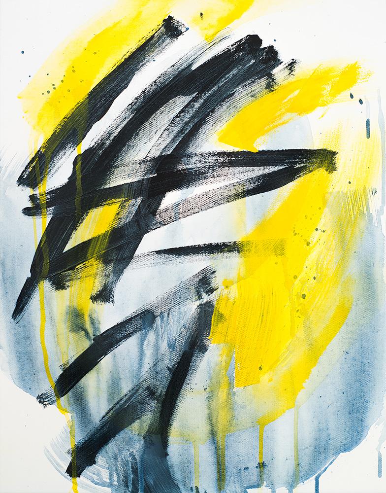 Electric Rain, 151128 / acrylics on canvas / 40x50 cm / available 400 €