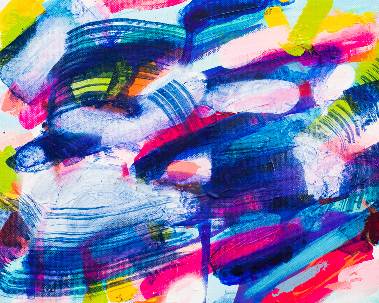 Zen Garden, 2016 / acrylics on canvas / 30x24 cm / available 150 €